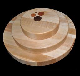 Round Edge Grain Cutting Boards